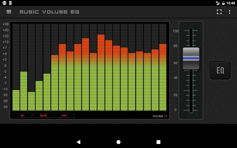 screenshot of Music Volume EQ - Equalizer & Booster version 4.5