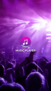 screenshot of Music player version 4.0.1