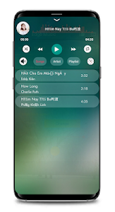 screenshot of Music player S9 EDGE Note 9 version 1.37