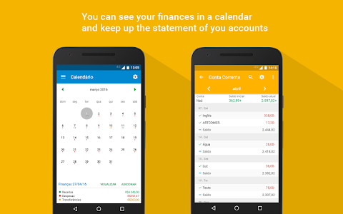 screenshot of My Finances - Personal Finances Manager version 4.7.9