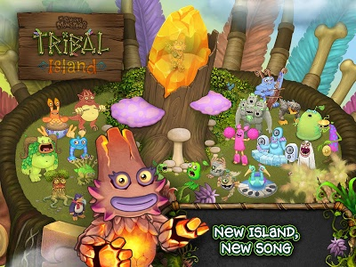 screenshot of My Singing Monsters version 1.3.5