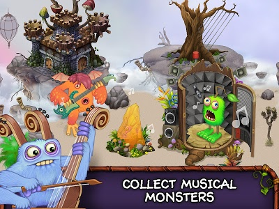 screenshot of My Singing Monsters version 2.2.0