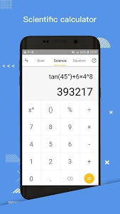screenshot of My calculator version 1.1.6