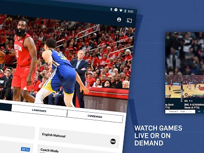 screenshot of NBA: Live Games & Scores version Varies with device