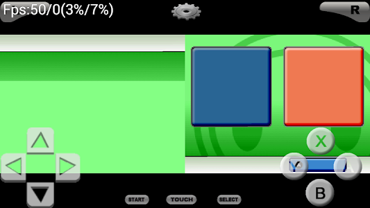 screenshot of NDS Boy! NDS Emulator version 4.8.4