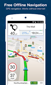 screenshot of Navmii GPS World (Navfree) version 3.7.15