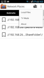 screenshot of Network Places version 7.0.9