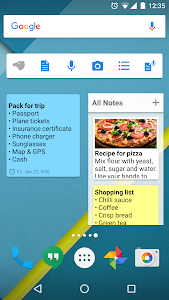 screenshot of Notepad version 1.0.34