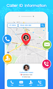 screenshot of Number Locator - Mobile Caller Location version 1.4