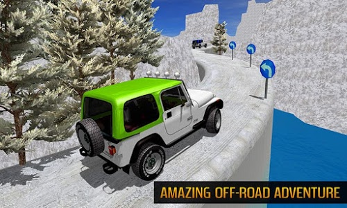 screenshot of Offroad Jeep Mountain Hill Climb Driving 3D version 1.0.2