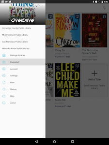 screenshot of OverDrive version 3.5.3