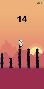 screenshot of Panda Jump version 1.1.11
