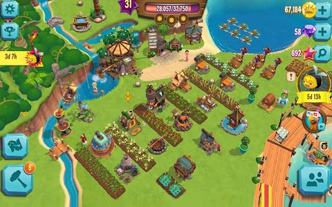 screenshot of Paradise Bay version Varies with device