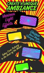 screenshot of Party Light - Disco, Dance, Rave, Strobe Light version Varies with device