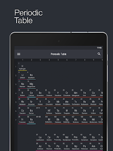 screenshot of Periodic Table 2016 version 0.1.6