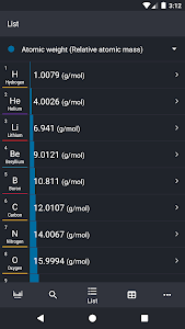 screenshot of Periodic Table 2020 - Chemistry version 0.2.92