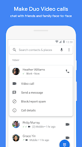 screenshot of Phone version Varies with device