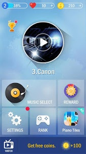 screenshot of Piano Tiles 4 version 1.0
