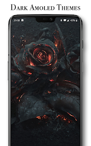 screenshot of Live Wallpapers Backgrounds HD/3D AMOLED--Pixel 4D version 1.76