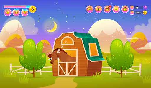 screenshot of Pixie the Pony - My Virtual Pet version 1.35