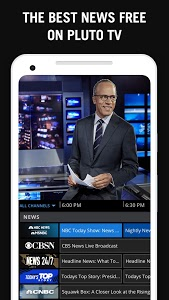 screenshot of Pluto TV - It's Free TV version Varies with device