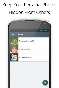screenshot of Private Photo Vault version 2.3.1