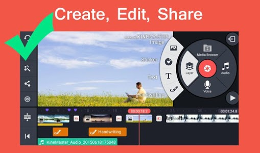 screenshot of Pro Kine Master + Manual best Free video editor version 1.0