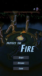 screenshot of Protect the Fire version 0.1