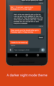 screenshot of Pulse (SMS/Tablet Messenger) version 1.10.2.715