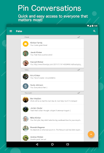 screenshot of Pulse SMS (Phone/Tablet/Web) version 1.15.1.981