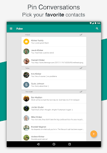 screenshot of Pulse SMS (Phone/Tablet/Web) version Varies with device