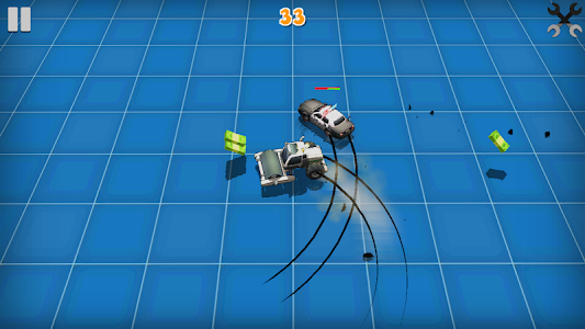 screenshot of Pursuit of Madness: Crazy Police Chase version 1.0