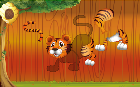 screenshot of Puzzles for kids Zoo Animals version 3.4.0.0