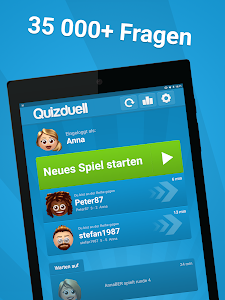 screenshot of Quizduell PREMIUM version Varies with device