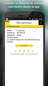 screenshot of RACC Assistance version 1.2.1