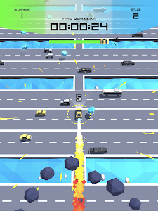 screenshot of ROAD SURGE version 1