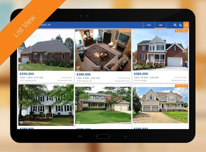 screenshot of Real Estate by Homes.com version 7.0.1