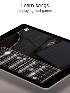 screenshot of Real Guitar Free - Chords, Tabs & Simulator Games version Varies with device