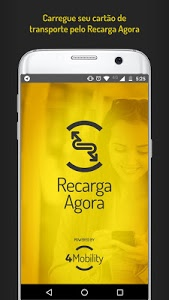 screenshot of Recarga Agora version 2.4.8
