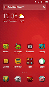 screenshot of Red Box - Cool wallpaper & memoji version 1.5