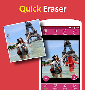 screenshot of Remove Object from Photo - Unwanted Object Remover version 1.9