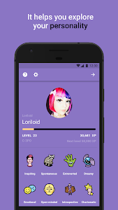 screenshot of Replika version 1.5.66