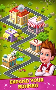 screenshot of Restaurant Tycoon - Diner Cafe Story version 4.7
