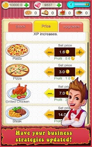 screenshot of Restaurant Tycoon version 3.7