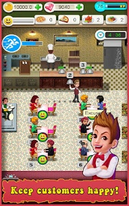 screenshot of Restaurant Tycoon version 3.5