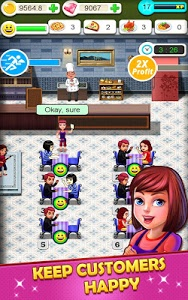screenshot of Restaurant Tycoon version 5.8