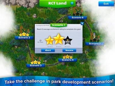 screenshot of RollerCoaster Tycoon® 4 Mobile version 1.13.5