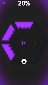 screenshot of Rolling Tunnel Ball version 1.3