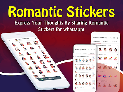 screenshot of Romantic Stickers for WhatsApp - WAStickerApps version 1.0