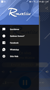 screenshot of Romantica on line version 6.4.1